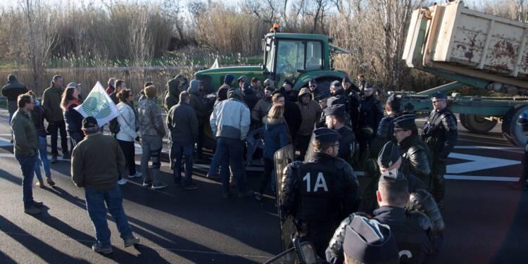 Manifestations d'agriculteurs mercredi à la veille d'une réception à l'Elysée