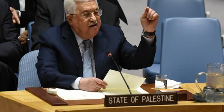 Etat palestinien: à l'ONU, Abbas appelle à l'aide internationale