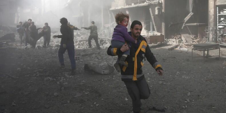 La Ghouta rebelle, l'ancien verger de Damas ravagé par la guerre