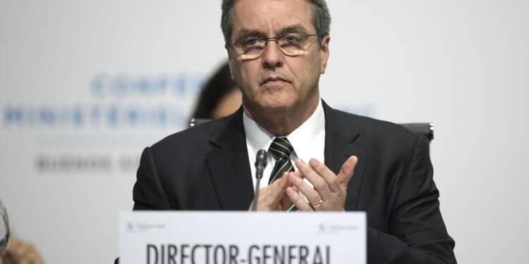 """L'OMC """"clairement préoccupée"""" par le projet de taxes de Trump"""