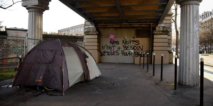 """""""Près de 3.000"""" sans-abri dénombrés lors d'un premier recensement à Paris"""