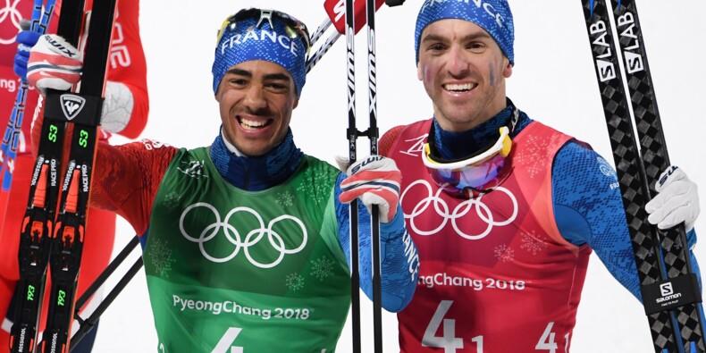JO-2018: 14e médaille pour la France, en sprint par équipes messieurs