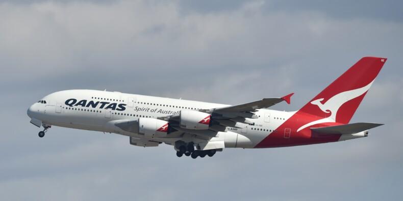 Qantas: forte hausse de son bénéfice au premier semestre décalé