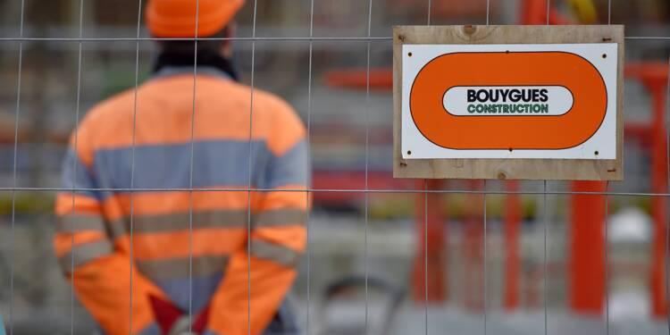 Bouygues: bond de 48% du bénéfice net 2017 à 1,08 md EUR, meilleur qu'attendu