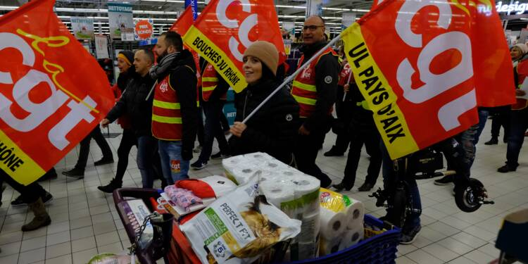 Carrefour: début des négociations sur les suppressions d'emplois