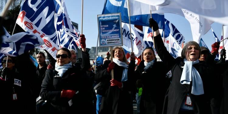 Salaire: l'intersyndicale d'Air France promet une suite à la grève