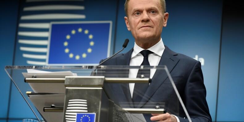 Brexit: rencontre entre Tusk et May à Londres avant un discours attendu de May