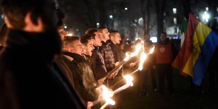 Italie: l'extrême droite portée par les tensions sociales et raciales