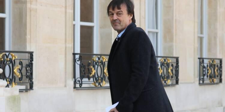 """Sortie du glyphosate en 3 ans: Hulot évoque des """"exceptions"""""""