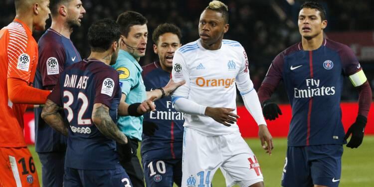 Ll: K.O. au Parc des Princes, Marseille et Neymar à terre