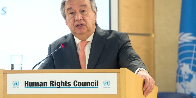 """Syrie: le chef de l'ONU demande que la trêve soit """"immédiatement appliquée"""""""
