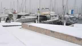 La neige perturbe fortement les transports dans le sud de la France