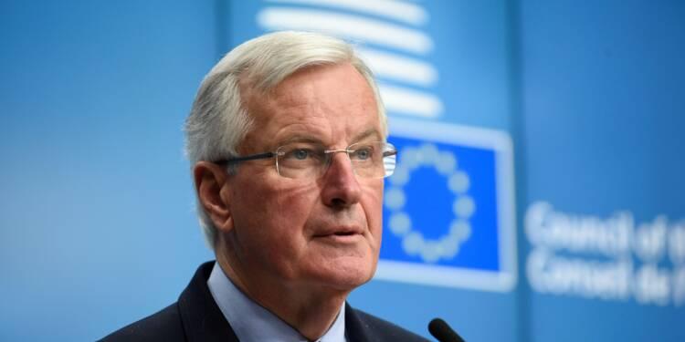 """Brexit: pour réussir la négociation il """"faut accélérer"""", insiste Barnier"""
