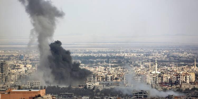 """Ghouta orientale: poursuite des combats au 2e jour de la """"pause"""" humanitaire"""
