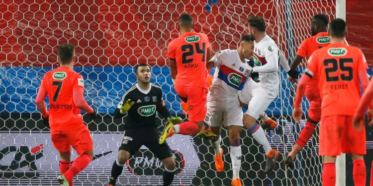 Coupe de France: Caen sort Lyon, rendez-vous avec le PSG en demies