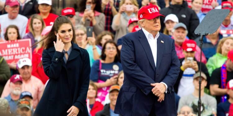 Hope Hicks, proche conseillère de Donald Trump, démissionne