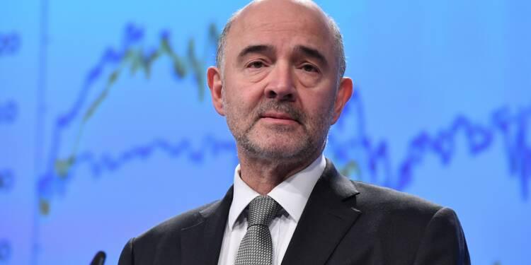 """Acier: les guerres commerciales """"bonnes pour personne"""", estime Moscovici"""