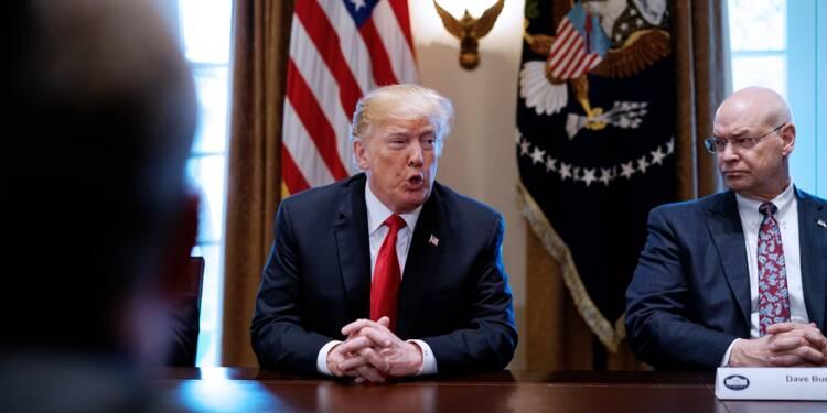 Trump lie les renégociations Aléna aux taxes sur l'acier et l'aluminium