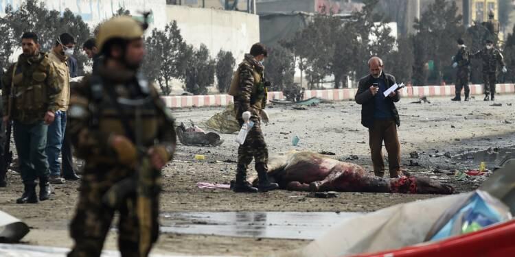 Attentat-suicide contre un convoi des forces étrangères à Kaboul