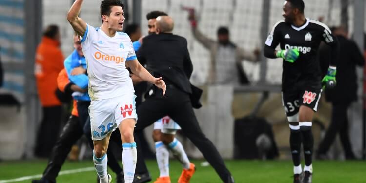 Ligue 1: une fois de plus, Thauvin sauve l'OM de la défaite
