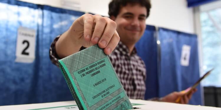 Les Italiens aux urnes pour un scrutin incertain