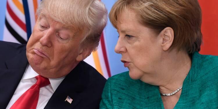 """Les Etats-Unis font """"fausse route"""" avec le """"protectionnisme"""", selon Berlin"""