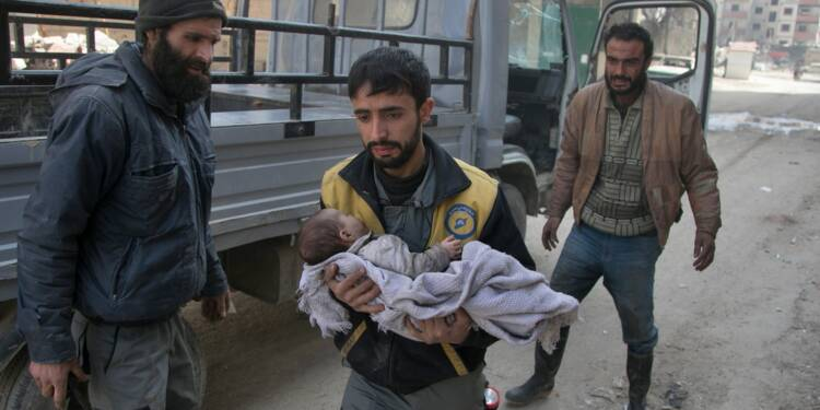Syrie: 14 civils tués dans de nouveaux raids du régime sur la Ghouta