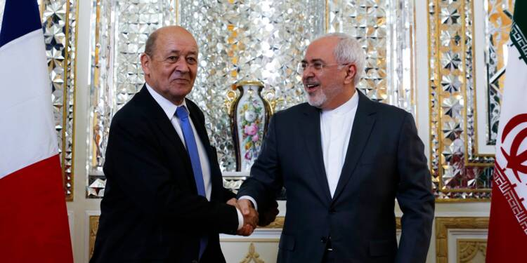Dialogue difficile à Téhéran pour le chef de la diplomatie française
