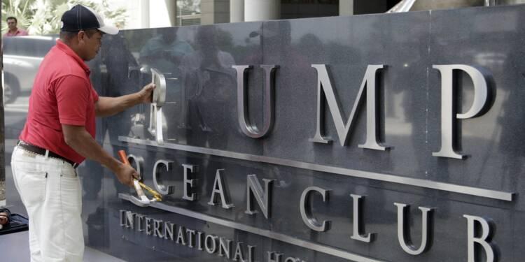 Le nom de Trump effacé d'un hôtel de Panama suite à un différend commercial