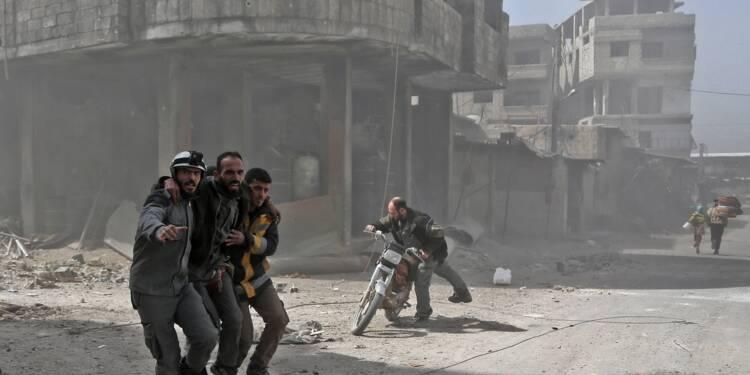 Le régime syrien reprend la moitié du fief rebelle dans la Ghouta