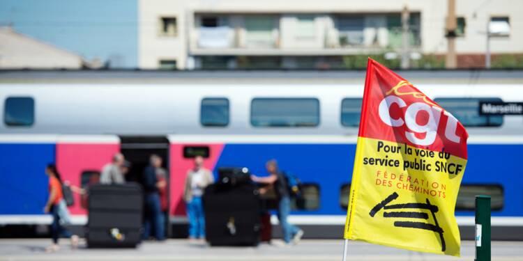 """SNCF: la CGT dégaine son contre-projet pour """"réorienter"""" le gouvernement"""