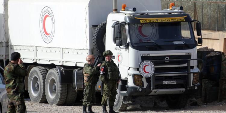 Syrie: livraison des aides pour la Ghouta reportée, le régime avance