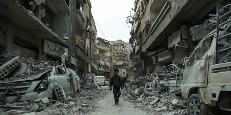 Syrie : la Ghouta sous les bombes, l'aide humanitaire bloquée