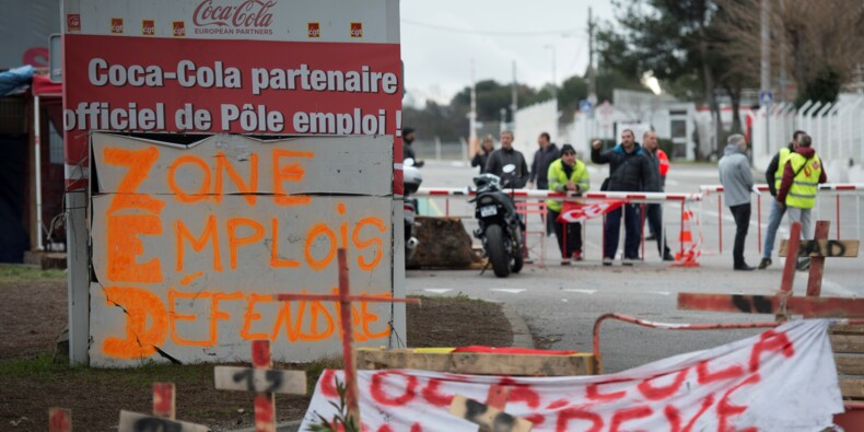 Coca Cola: 24e jour de blocage à l'usine des Pennes-Mirabeau