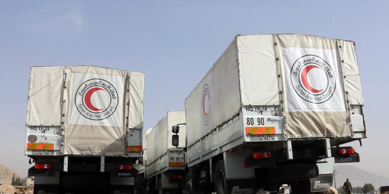 Syrie: un convoi humanitaire est entré dans la Ghouta