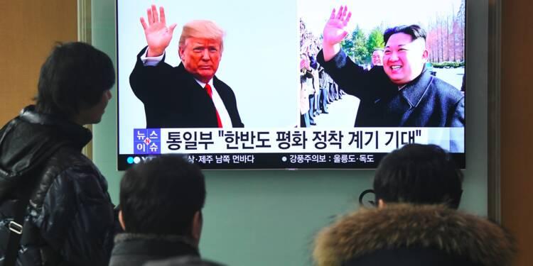Trump et Kim vont se voir mais les sanctions restent