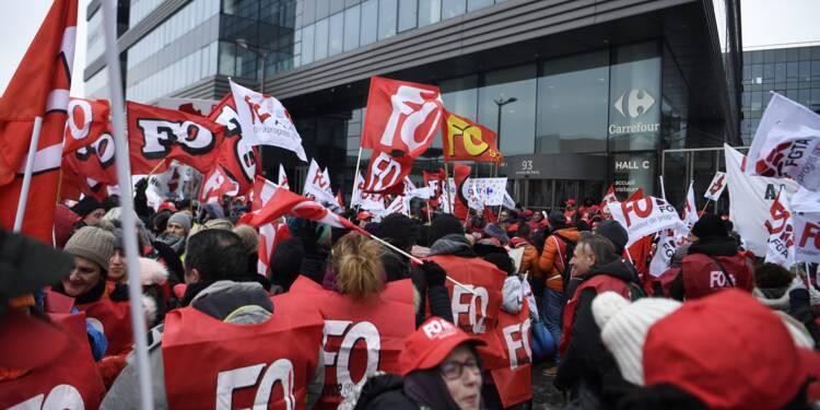 Participation en baisse chez Carrefour: la colère monte chez les salariés