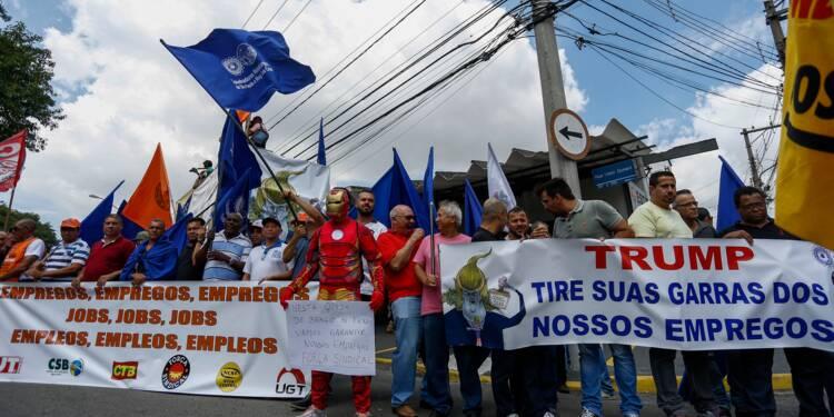 Tarifs douaniers de Trump sur l'acier: le Brésil en première ligne