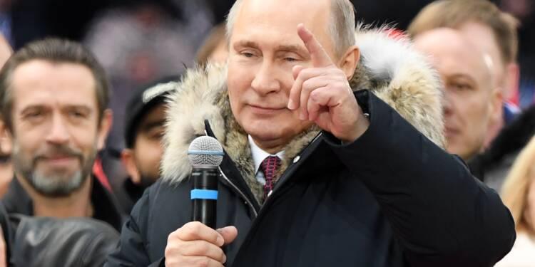 """Poutine se """"moque éperdument"""" de l'ingérence dans l'élection américaine"""