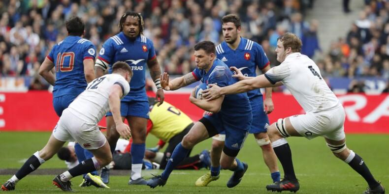 Tournoi: le XV de France fait match nul à la mi-temps contre l'Angleterre (9-9)