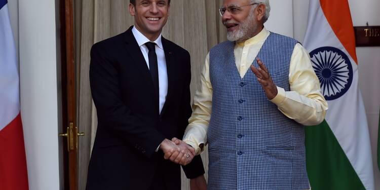 """Macron veut faire de l'Inde un """"partenaire stratégique"""""""
