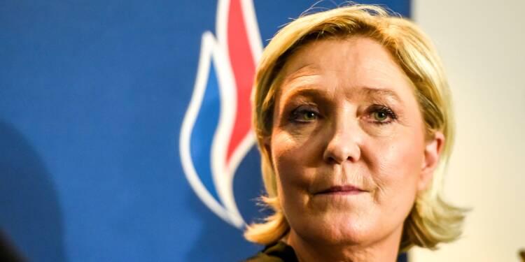 Marine Le Pen réélue présidente du Front national
