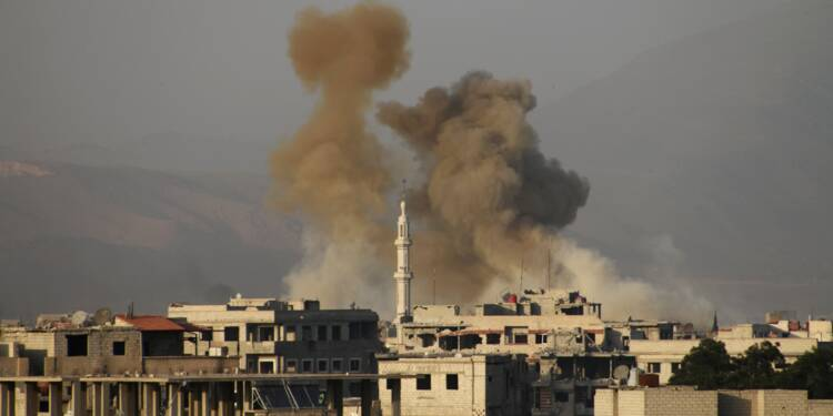 Syrie: poursuite de l'offensive du régime contre la Ghouta