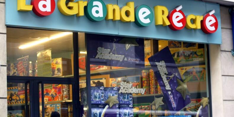 Mauvaise passe pour La Grande Récré, qui ferme 20% de ses magasins en France
