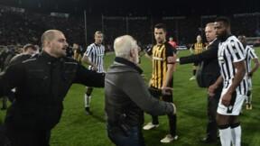 Grèce: profil bas du président du PAOK après son irruption sur le terrain