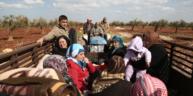 """Syrie: """"catastrophe"""" humanitaire à Afrine, étouffée par l'offensive turque"""