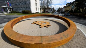 Un rond-point dédié au bitcoin en Slovénie