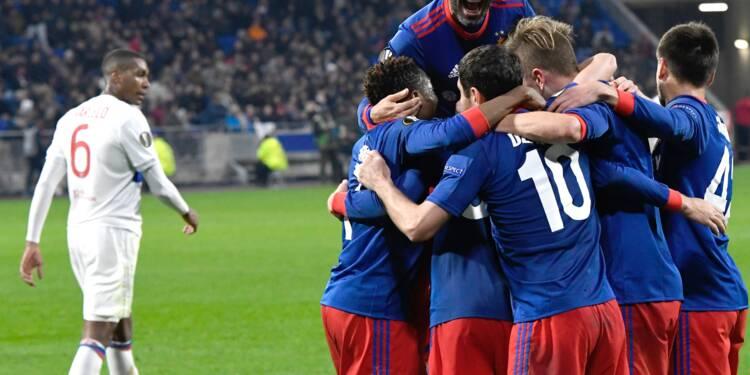 Europa League: Lyon rate son quart et jouera sa saison à Marseille