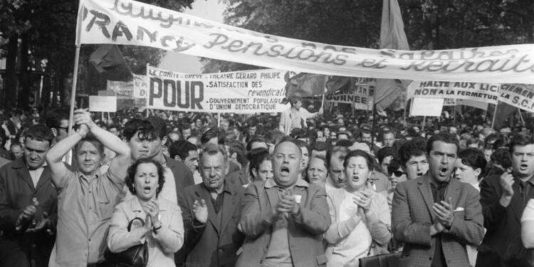 """Les grèves ouvrières de mai-juin 68 n'étaient """"pas à la remorque"""" du mouvement étudiant"""