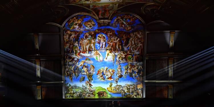 A Rome, la chapelle Sixtine prend vie par le miracle des effets spéciaux